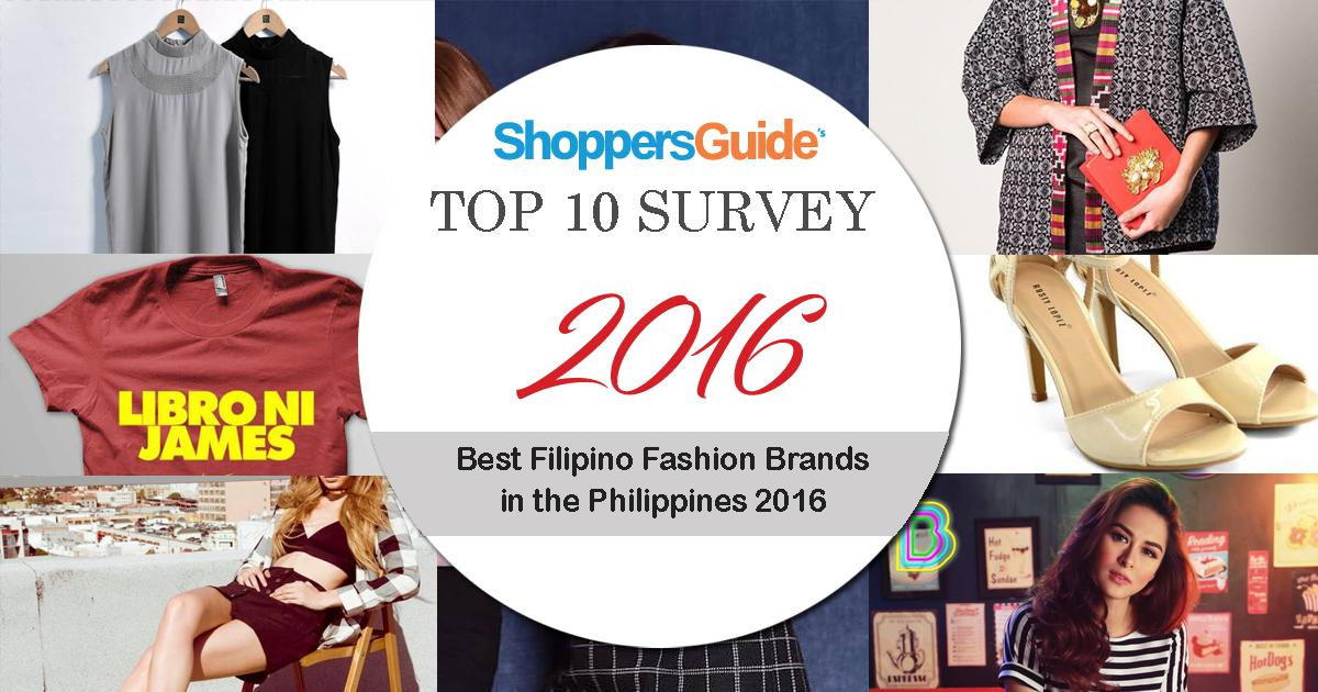 Top 9 Best Filipino Fashion Brands In The Philippines 2016